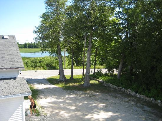 "Cole's Rowley's Bay Cabins: The view from the ""Lighthouse""."