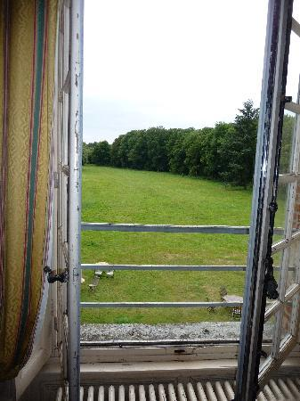 Chateau de Brecourt : View from our bedroom