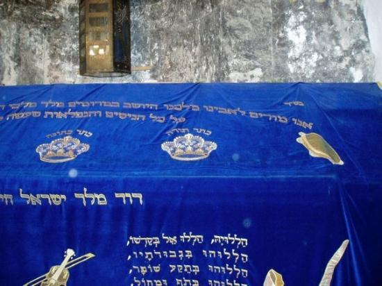 Jerusalem, Israel: This is King David's Tomb.