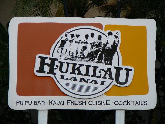 Hukilau Lanai : Main Sign