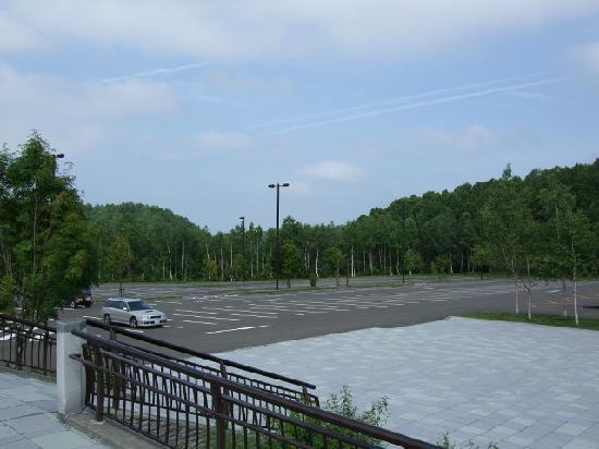 Takino Suzuran Hillside National Park: 大型駐車場
