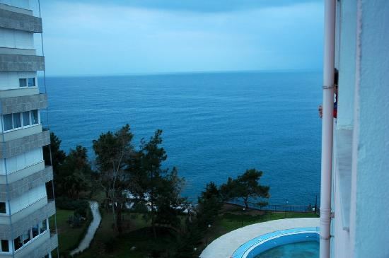 Oz Hotels Antalya Resort & Spa: Window view