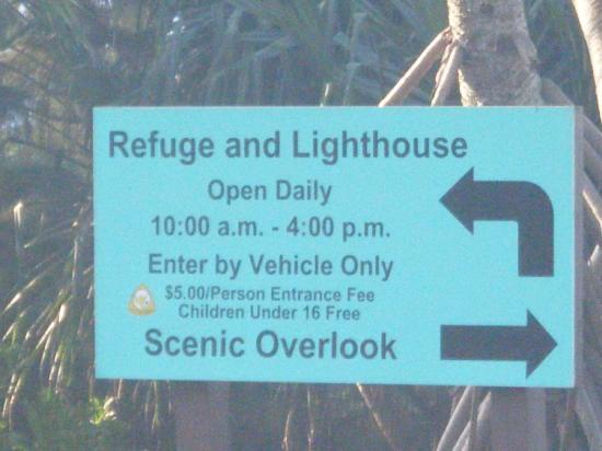 Kilauea Lighthouse: Lighthouse Sign
