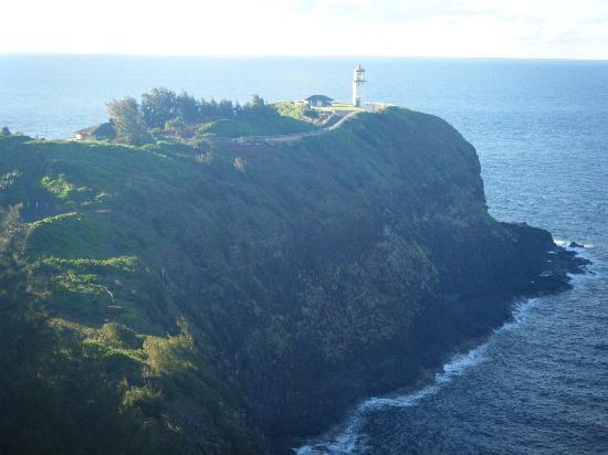Kilauea Lighthouse: In the Distance