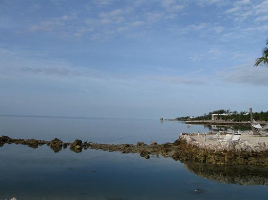 Chesapeake Beach Resort: Looking south near the lagoon