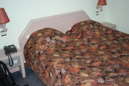 Splendid Hotel: Beds in the room