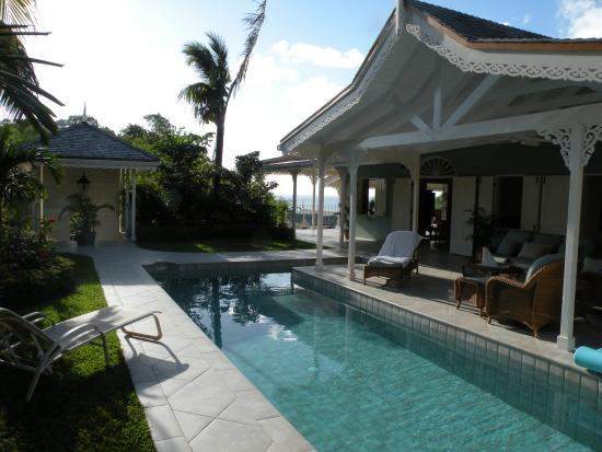 Villa Marigot : Private pool