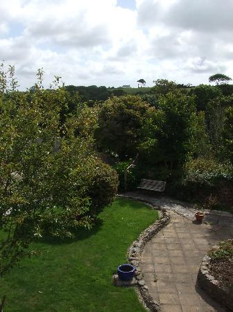 St Mawes, UK: Lovely view from Minack room window