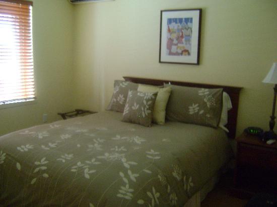 Auberge du Mont-Orford : la chambre spacieuse