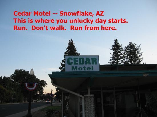 Cedar Motel, Snowflake, AZ