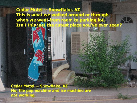 Snowflake, AZ: By our room
