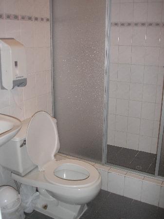 Hotel Tierrasur: The bathroom