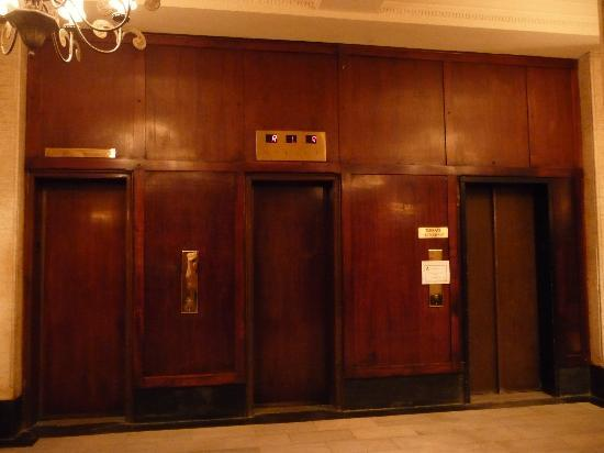 Terrace in the Sky : first disappointment the elevators...