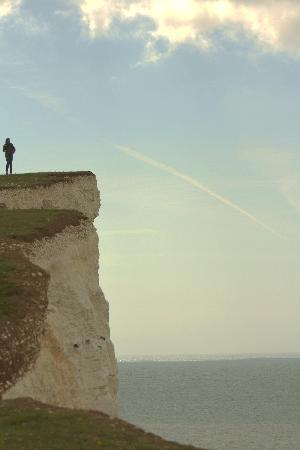 Beachy Head: the cliff