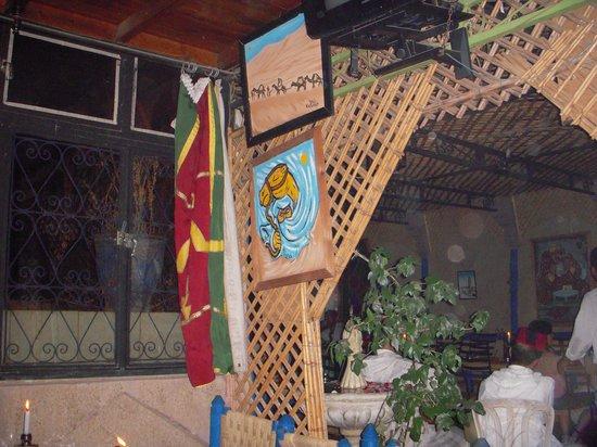 ไรแอด อูเบรค: Chez Brahim café BERBERE