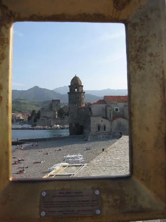 Hotel-Restaurant les Templiers: framed view