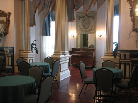 Columns Hotel: downstairs function room