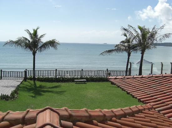 Villa Rasa Marina: view from our bedroom