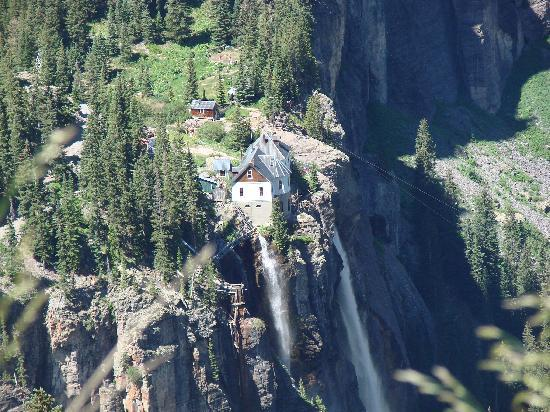 Ouray, CO: mill/falls view