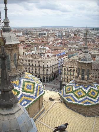 Hotel El Principe: Veduta dal campanile del Pilar