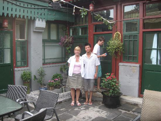 Emperor's Guard Station Courtyard Hotel : Hutong Courtyard