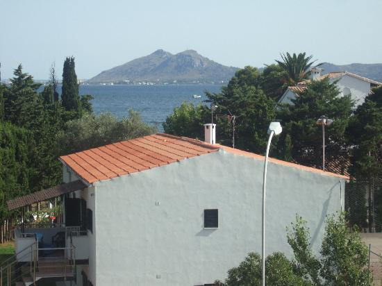 A view of the med' from our balcony
