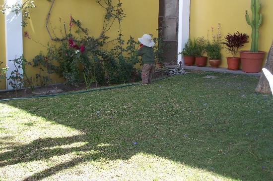 Garden at La Gruta Hotel Arequipa