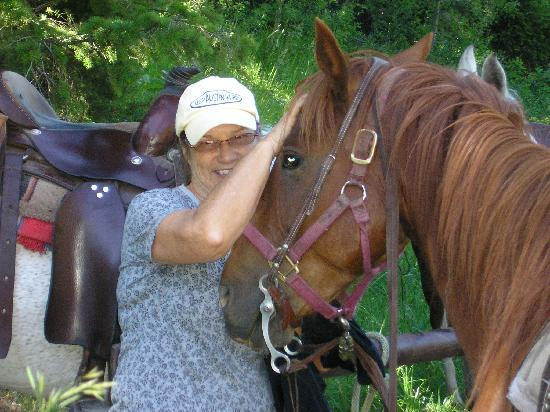 Bagley's Teton Mountain Ranch: Blaze was a perfect gentleman