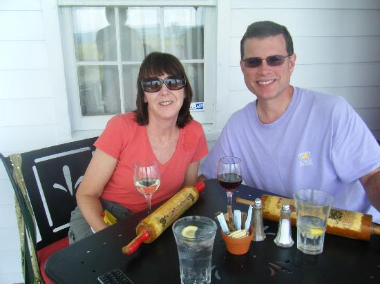 Pumpkin Hill: On the Porch, Check Out the Rolling Pin Dessert Menus!