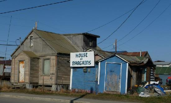 Nome, AK: Conveniently located near the house of bargains