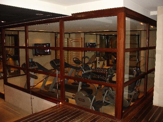 Hotel 1898: gym