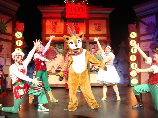 Christmas Shows.One Of Their Live Christmas Shows Picture Of Santa S