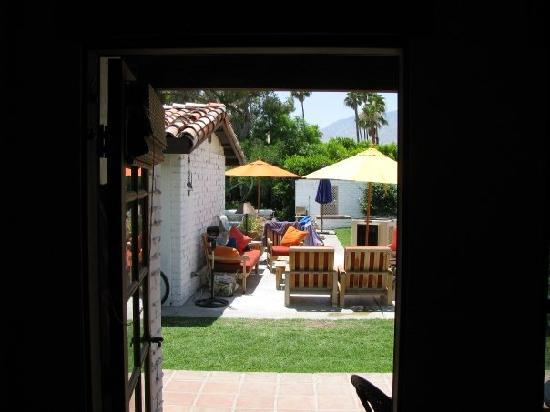 Casa Ocotillo: VIEW FROM OUR USUAL SUITE TO THE OUTSIDE