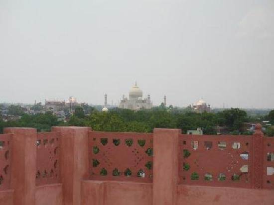 Siris 18: you could see the taj from the terrace