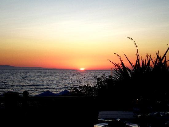 Aldemar Olympian Village: sunset