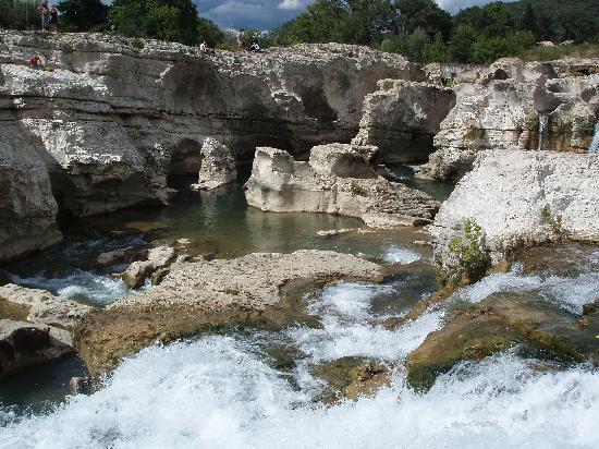 La Roque-sur-Ceze, ฝรั่งเศส: Marmites naturelles