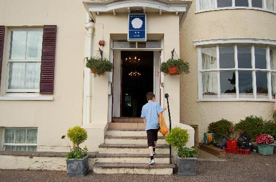 Entrance to the Ashton Court hotel.