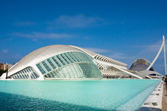 Walencja, Hiszpania: Citta delle arti e delle scienze