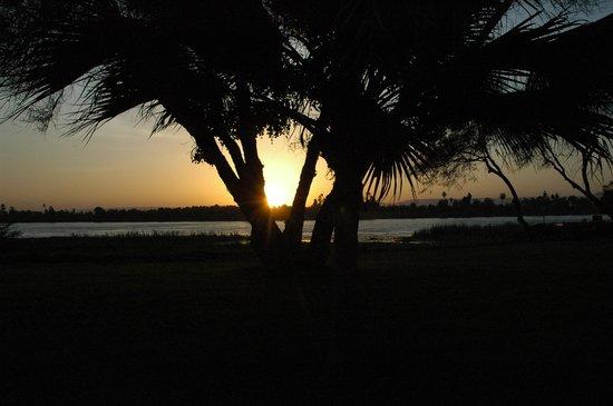 Luxor, Egypt: sunset