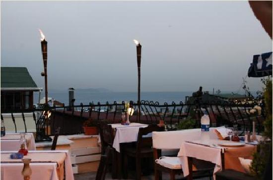 Villa Pasha Hotel: Beautiful view of Bosphorus