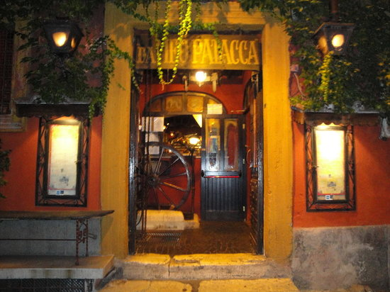 Osteria Da Meo Patacca Rome Trastevere Restaurant