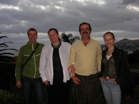 Quinta Sao Goncalo: Ourselves and Rita and Filipe Vasconcelos