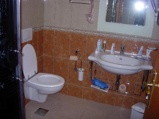 Hotel Villa Daniela: la salle de bain