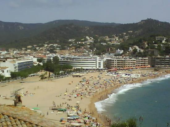 vue de tossa del mar photo de maria del mar lloret de mar tripadvisor. Black Bedroom Furniture Sets. Home Design Ideas