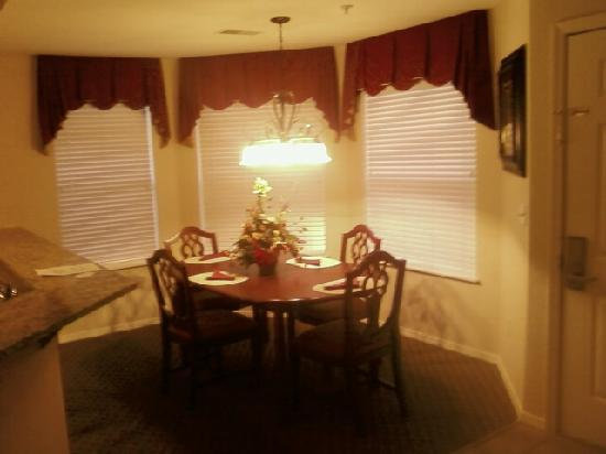 Suites at Fall Creek: Dining area of suite