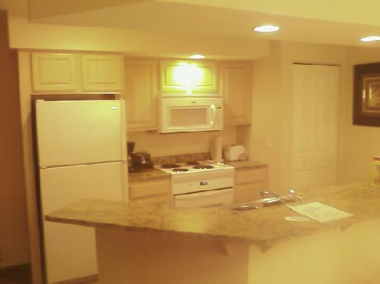 Suites at Fall Creek: Kitchen of suite
