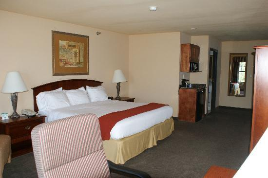 Holiday Inn Express Hotel & Suites: another view of king room