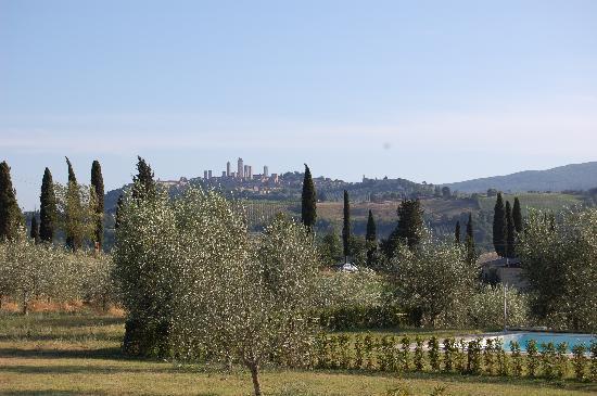 Agriturismo Il Vecchio Maneggio: View from Il Vecchio Maneggio