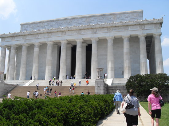 Washington DC, DC: Lincoln Memorial.