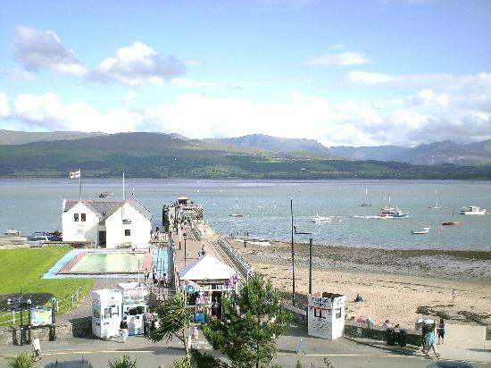 Beaumaris, UK: from bedroom window